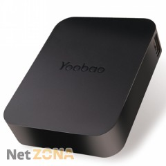 Yoobao  Power Bank10400 mAh Magic Cube YB-647, black