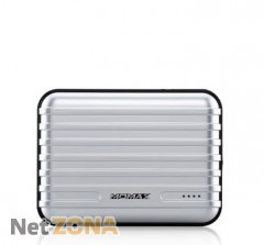 Momax iPower GO+ power bank 11200 mAh, silver