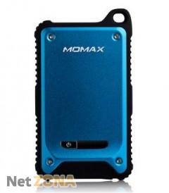 Momax iPower Tough 2 power bank 9000 mAh, blue