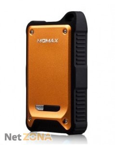 Momax iPower Tough 2 power bank 9000 mAh, orange