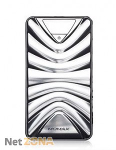Momax iPower Turbo power bank 16800 mAh, silver