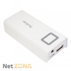 Yoobao  Power Bank 4800 mAh Journey YB-602, white