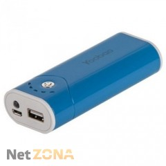 Yoobao  Power Bank 5200 mAh Bright Moon YB-622, blue