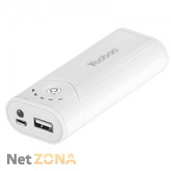 Yoobao  Power Bank 5200 mAh Bright Moon YB-622, white